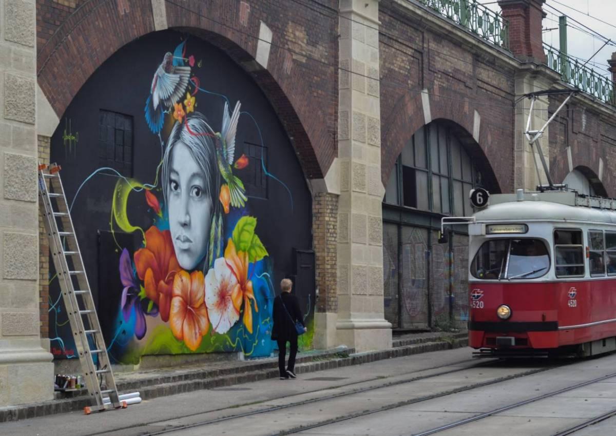 OBED OSORIO - iOnArt - GRAFFITI - VIENNA