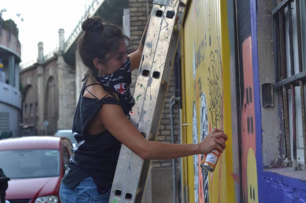 STOP FGM - LOTUS - iOnArt - GRAFFITI - VIENNA