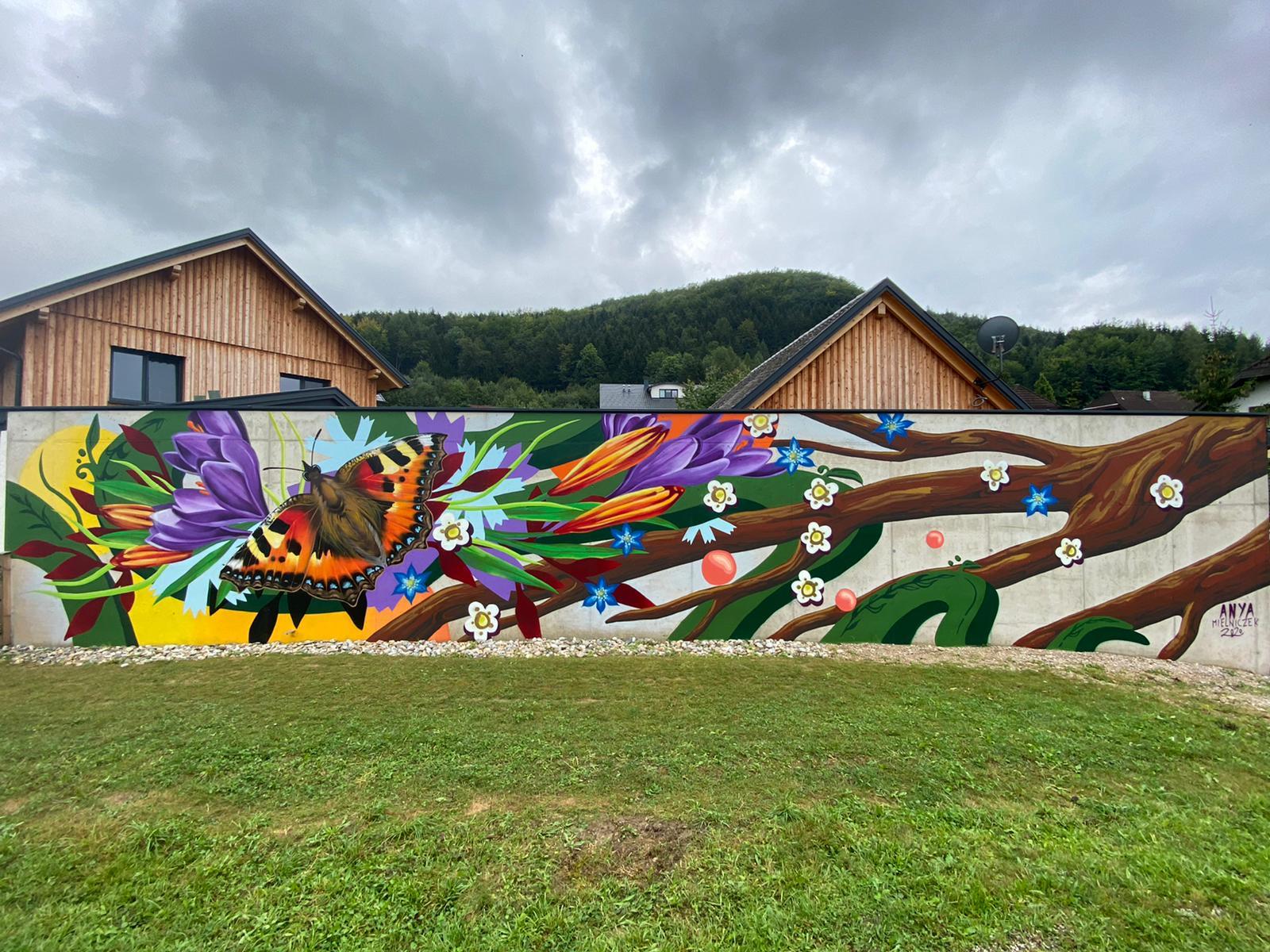Anya Mielniczek – Mural City 2020