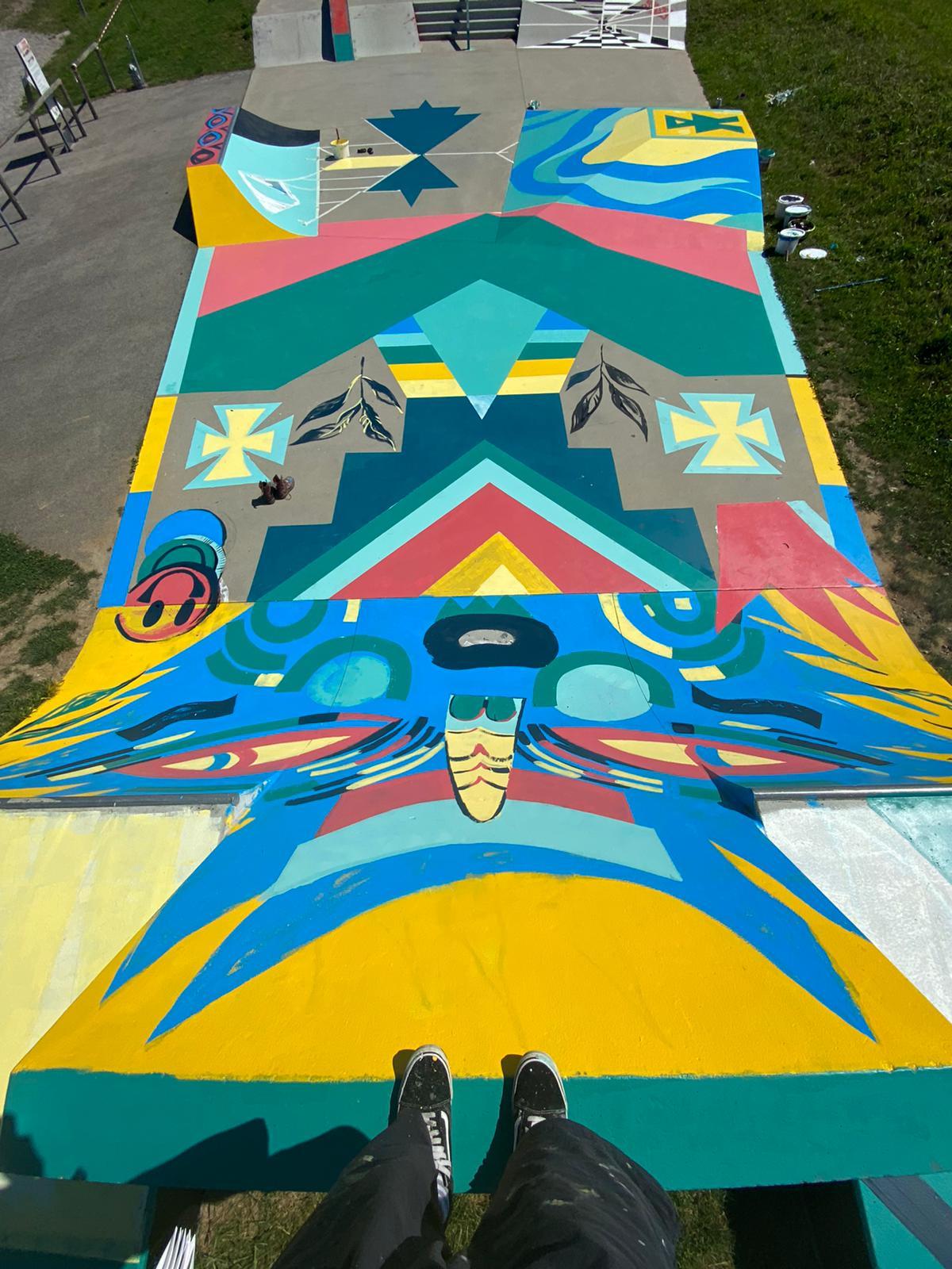 Jumu Monster Skatepark Neulengbach 2020 ionart.at