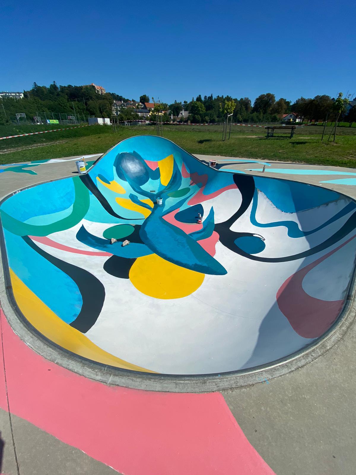 Gamze Yalcin Skatepark Neulengbach 2020 #Benonconform