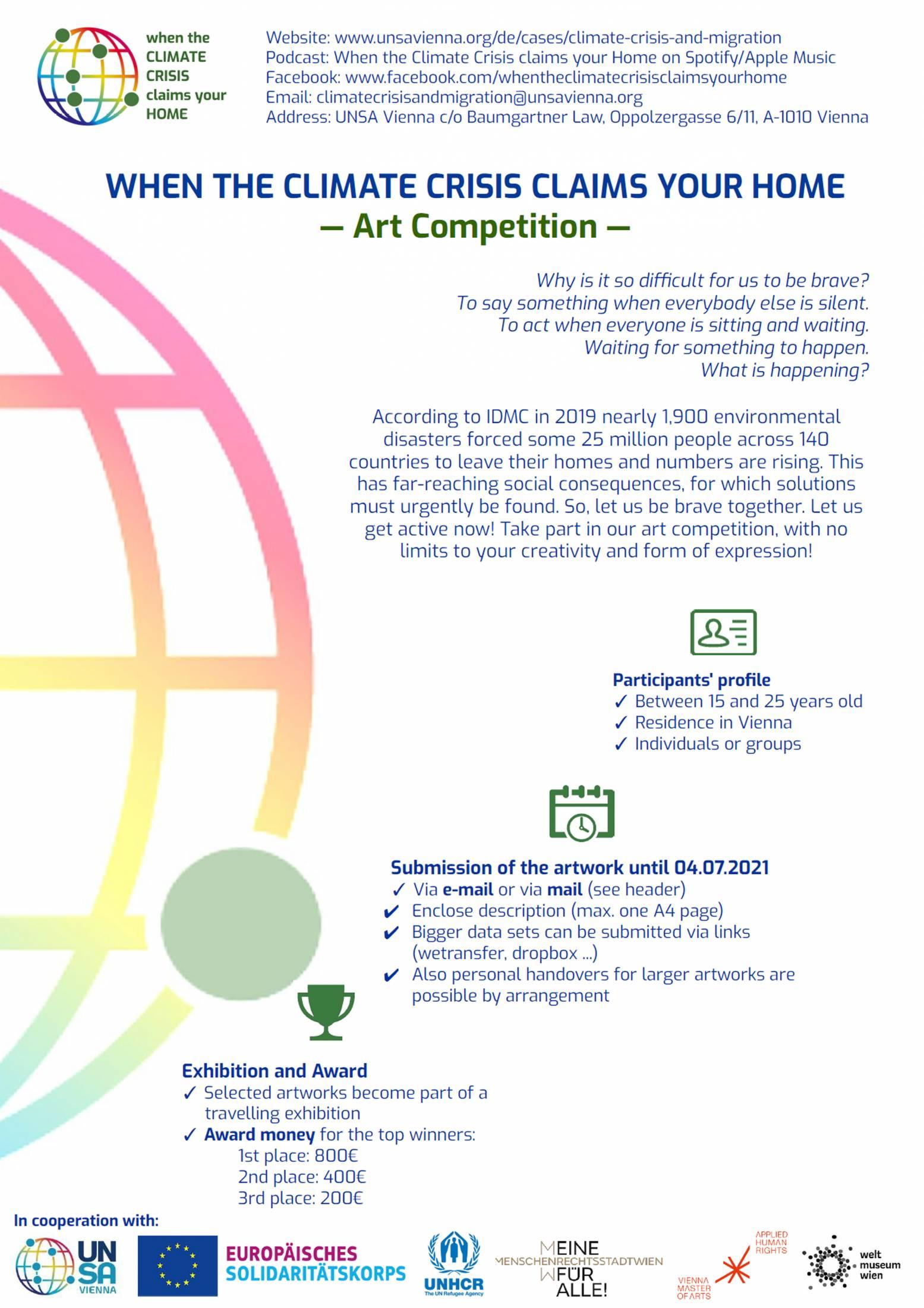 UNSA VIENNA – art-competition