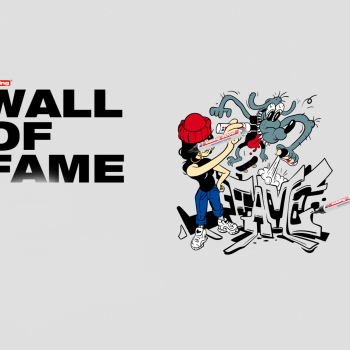 Wall of fame by Edding